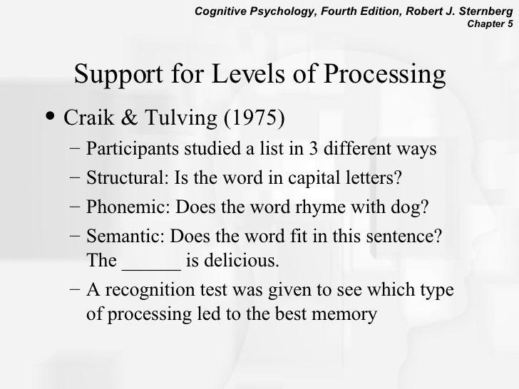 craik and tulving 1975 pdf