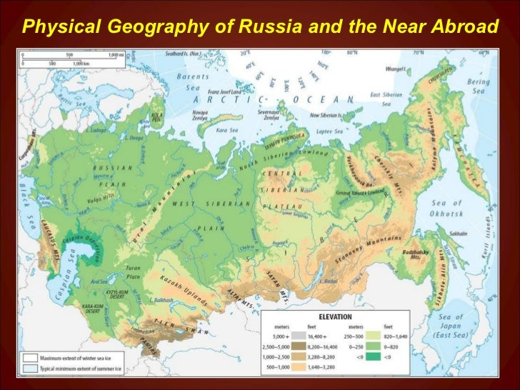 Chapter5 Kazakh Uplands Physical Map Of Russia on