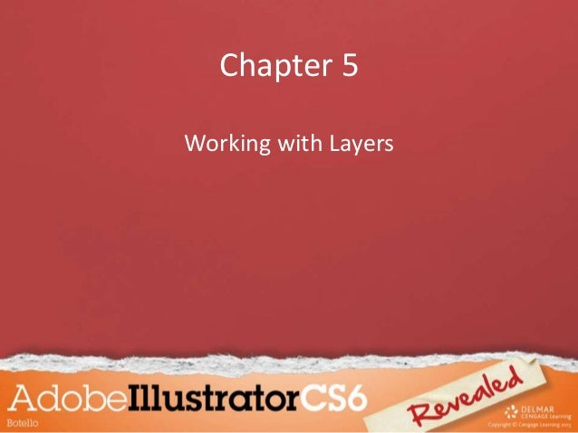 Chapter 5 Working with Layers