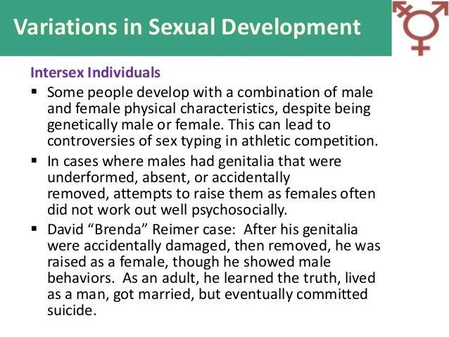 Variations of sex development