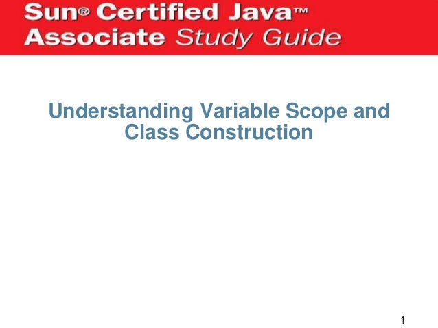 Understanding Variable Scope and Class Construction  1