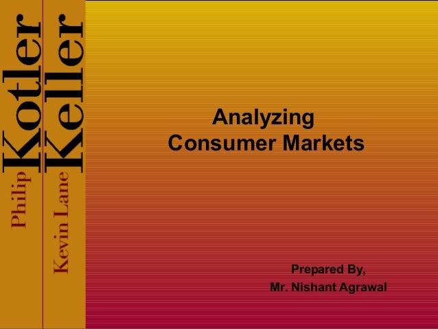 Analyzing Consumer Markets Prepared By, Mr. Nishant Agrawal
