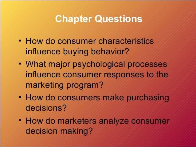 Analyzing Consumer Markets Slide 2