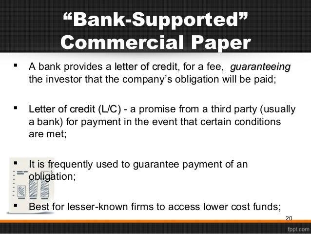 Chapter 5.Short Term Financing