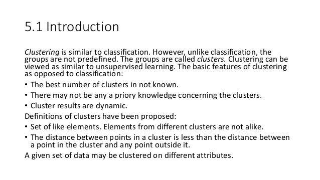 05 Clustering in Data Mining Slide 2