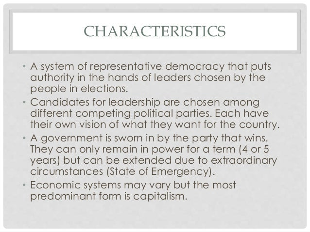 Democracy for 6 characteristics of bureaucracy