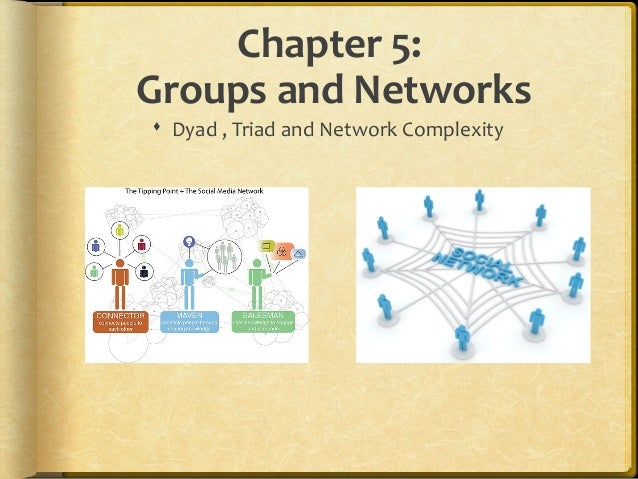 Chapter 5: Groups and Networks  Dyad , Triad and Network Complexity