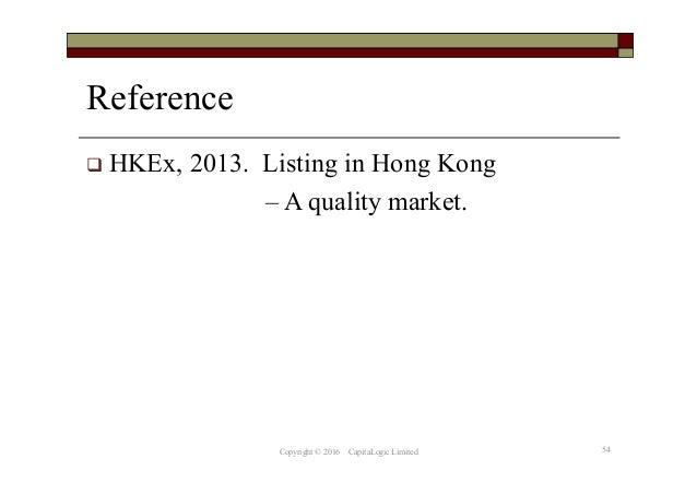 Hkex direct listing framework ipo