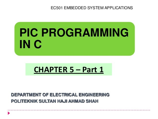 Embedded system (Chapter 5) part 1