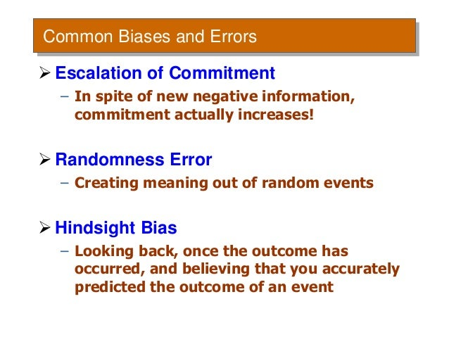 (PDF) Biases and Errors in Selection Decision-Making ...
