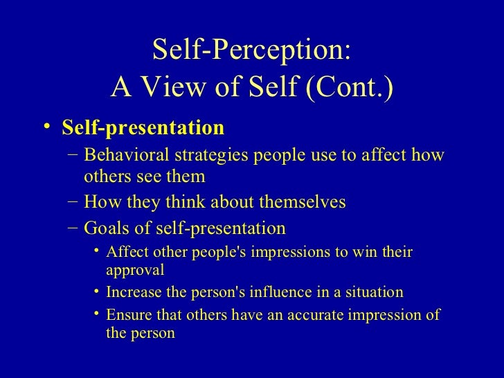self presentation and social perception The findings suggested that cultural characterization embedded in online communication affects the social perception  differences in online self-presentation .