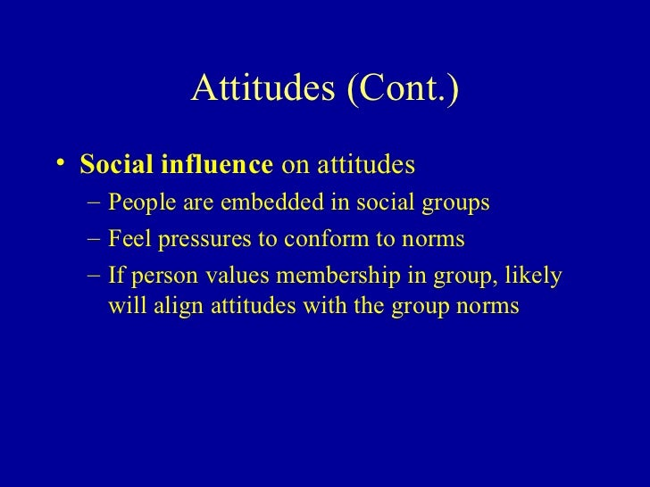 of personality perception and attitude Individual differences: mental functioning, emotional intelligence, personality perception, attitude - powerpoint ppt presentation.