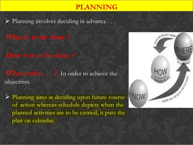 Project management-planning and scheduling Slide 2