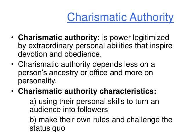 Charismatic domination nature