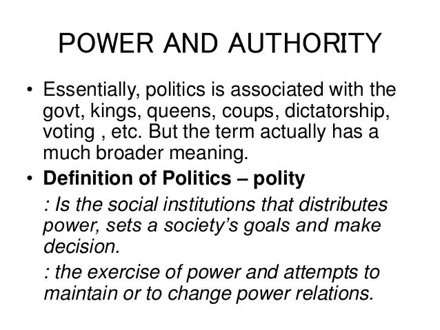 the concepts of power authority legitimacy essay The concept of legitimacy also has acquired a significant place in modern political theory component of authority in fact every political system strives for legitimacy legitimacy may rest on the belief that power is wielded in a way that is legal what is done legally is regarded as legitimate.