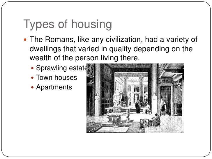 Chapter 5 Roman Housing