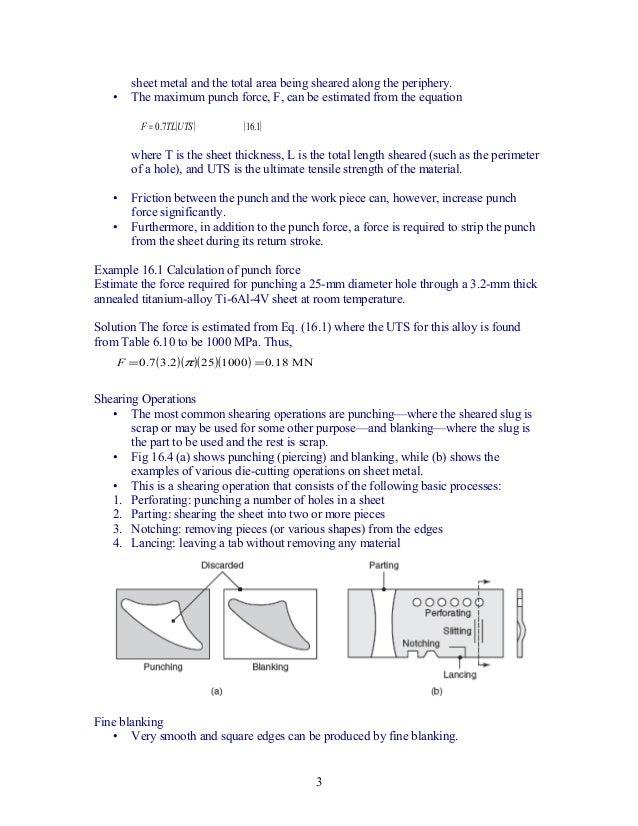 Chapter5 sheet metal forming