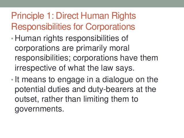 the moral responsibilities of the corporations The moral responsibility of firms edited by eric w orts and n craig smith an  up-to-date discussion of a topical subject all new contributions by leading.