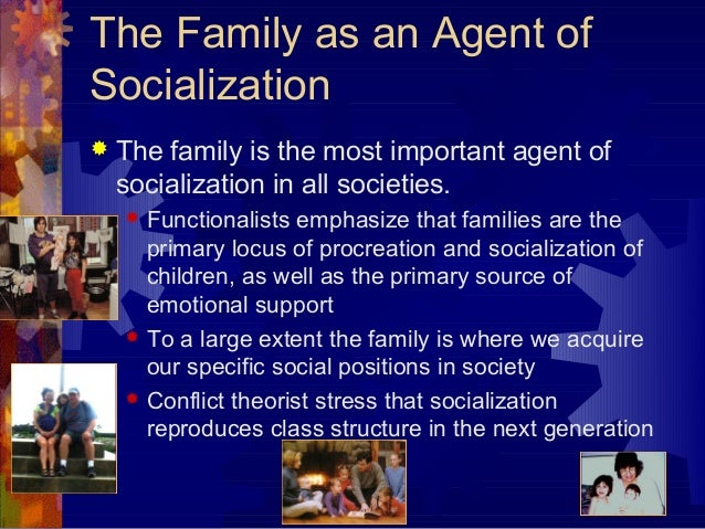 agents of socialization how they effect In a test of his theory, he found that while parental religiosity was not the best predictor of any of the types of adult religious involvement used in the model, its indirect effect through other agents of religious socialization was very substantial.