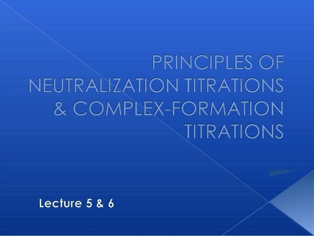 PRINCIPLES OF NEUTRALIZATION TITRATIONS Buffer solution Calculating pH in titrations of strong acids and  strong bases ...