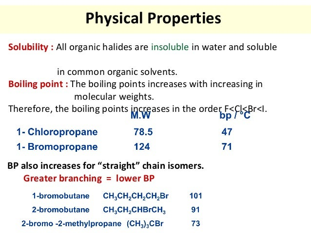 Physical Properties Of Hbr