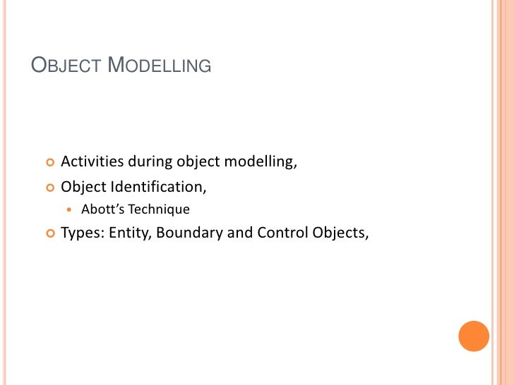 Object modelling in software engineering malvernweather Choice Image