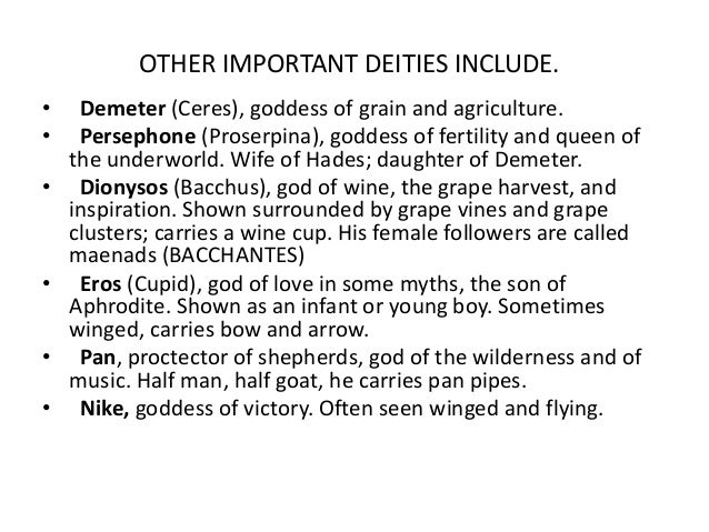 the importance of the fertility goddesses demeter and persephone in the society of ancient greece Demeter facts, information and stories from ancient greek mythology learn about the greek goddess of agriculture and fertility, demeter.
