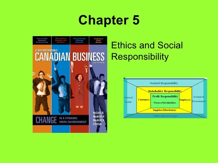 Chapter 5 Ethics and Social Responsibility
