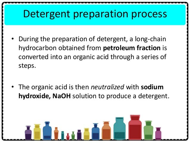 Structure of soap • Soap consists of sodium/potassium cations and soap anions • When a sodium/potassium soap dissolve in w...