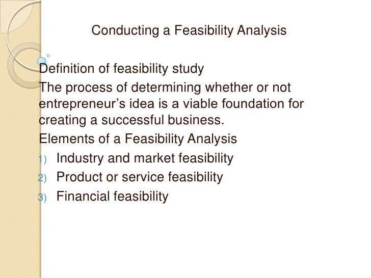 chapter 06 conducting a feasibility analysis To conduct research on your competitors 2 why does project feasibility include a project cost estimate  why projects need a project feasibility study  chapter practice exams, worksheets.