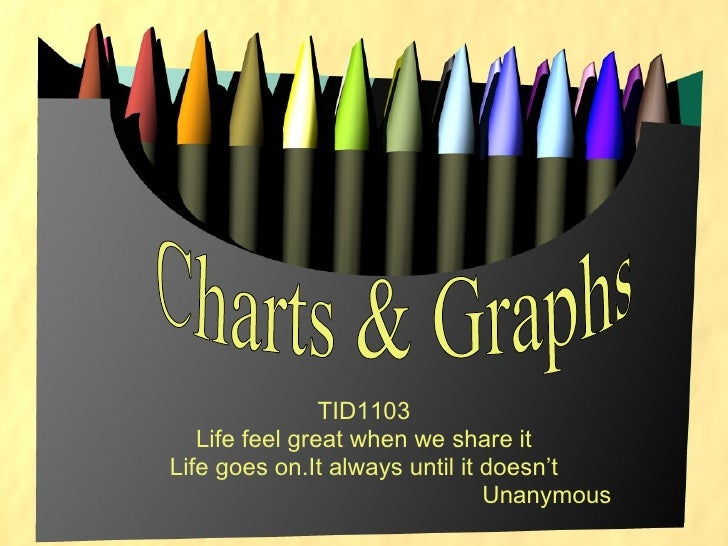 TID1103 Life feel great when we share it Life goes on.It always until it doesn't Unanymous Charts & Graphs