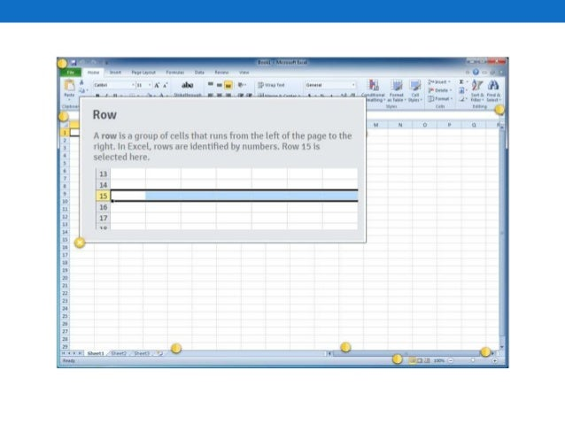 Chapter 5 microsoft excel 2010