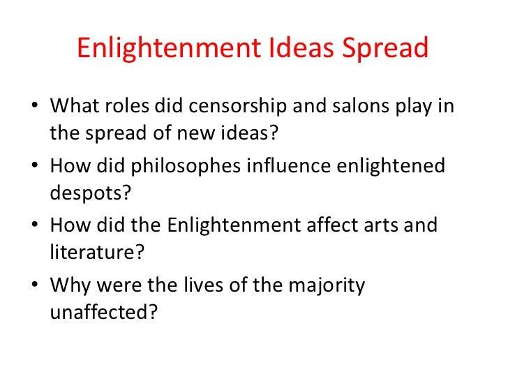 Enlightenment Ideas In Art