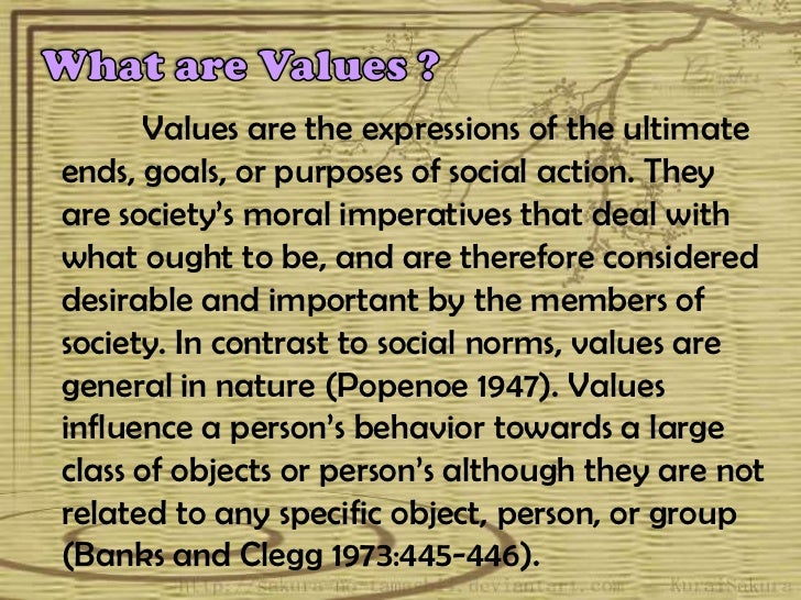 Chapter 5 philippine values