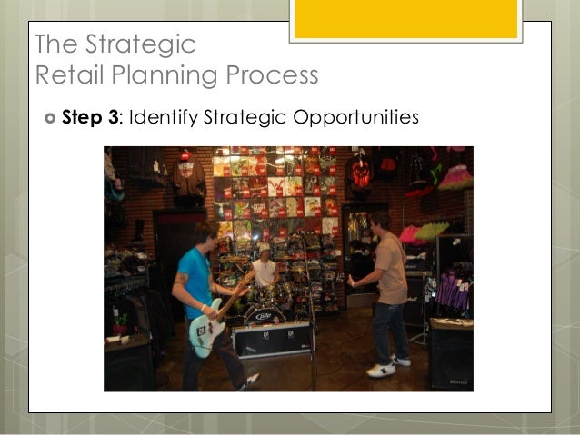 The StrategicRetail Planning Process Step   3: Identify Strategic Opportunities