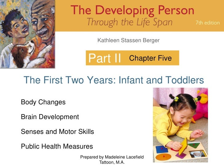 Kathleen Stassen Berger                          Part II             Chapter Five   The First Two Years: Infant and Toddle...