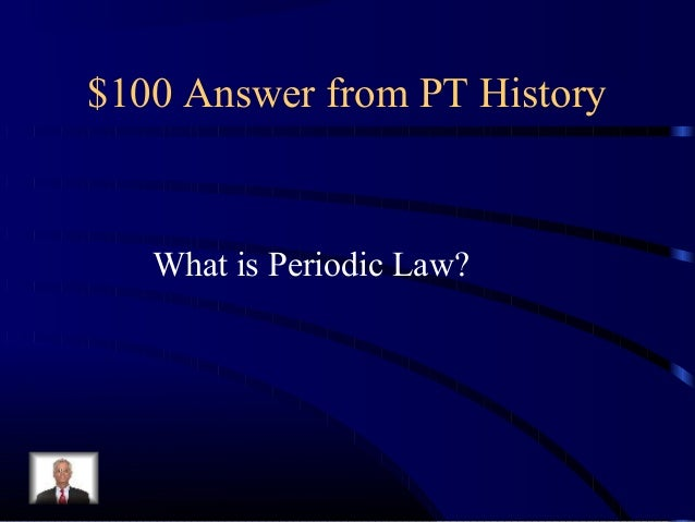 Chapter 5 Review Jeopardy