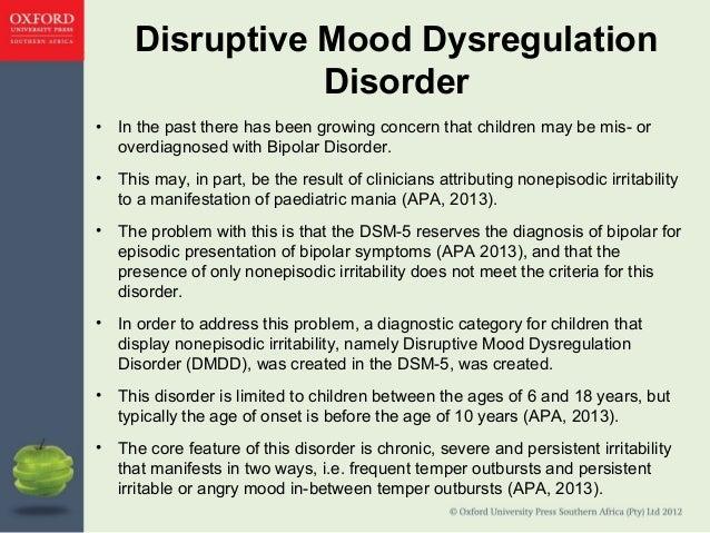 Disruptive Mood Dysregulation Disorder Treatment Chapter 5 (revised)
