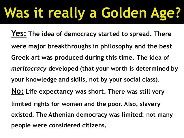 Athenian Democracy and Meritocracy Essay