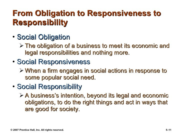social responsibility and managerial ethics a Social responsibility and managerial ethics - authorstream presentation individual characteristics: individual characteristics personality variables ego strength a personality measure of.