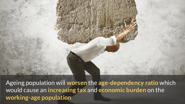 Ageing population will worsen the age-dependency ratio which would cause an increasing tax and economic burden on the work...