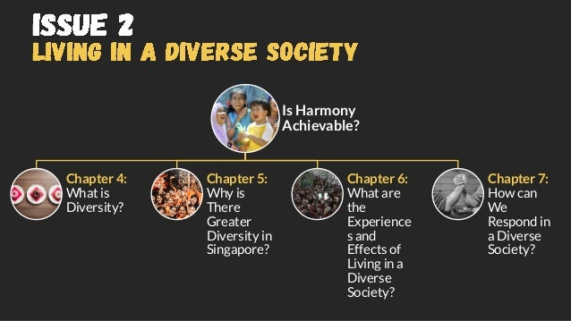 Is Harmony Achievable? Chapter 4: What is Diversity? Chapter 5: Why is There Greater Diversity in Singapore? Chapter 6: Wh...