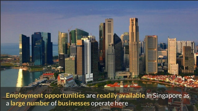 Singapore is an easy place to do business in due to how administrative matters are handled in a hassle- free way as follow...