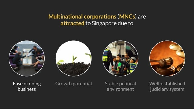 Singapore is ranked first out of fifty major destinations for having the best investment potential (Business Environment R...