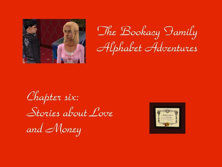 Welcome to chapter six of The Bookacy Family Alphabet Adventures! In the Bookacy house we find an elderlified founding cou...