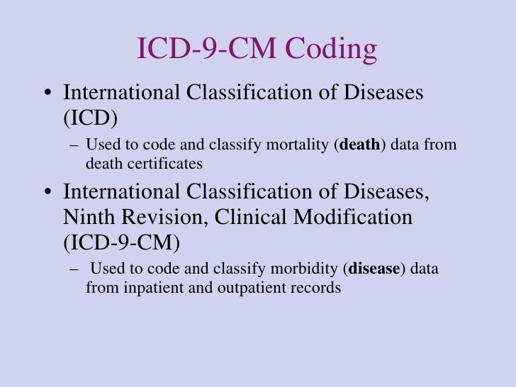 the advantages of the international classification of diseases for clinical modification Community trial in:  effect modification and interaction  international classification of diseases international classification of functioning,.