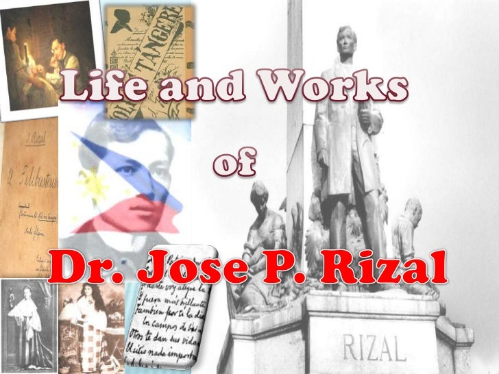 Life and Works<br />of<br />Dr. Jose P. Rizal<br />