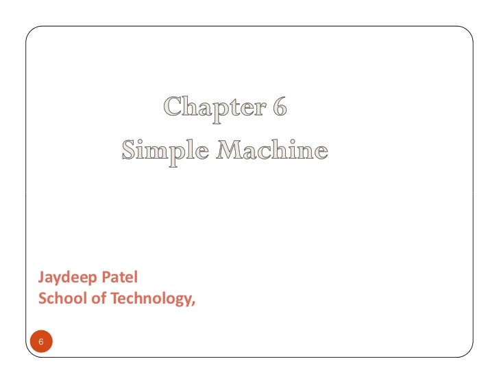 Jaydeep PatelSchool of Technology,6