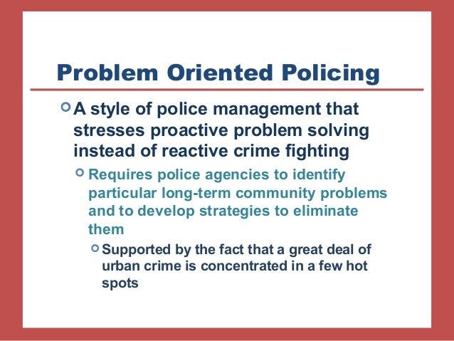 problem solving policing definition