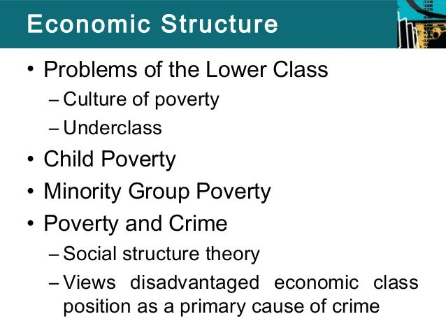 An examination of criminal underclass in american society